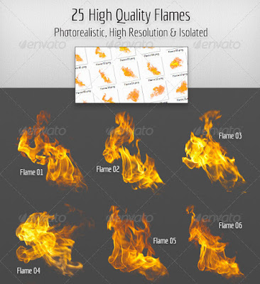 25 ngọn lửa chất lượng cao