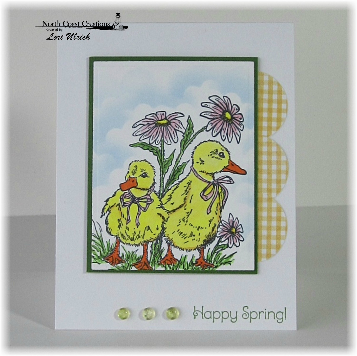 Stamps - North Coast Creations Happy Spring