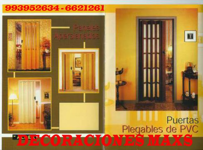 Puertas plegables per puertas plegables per puertas Cortinas plegables de pvc