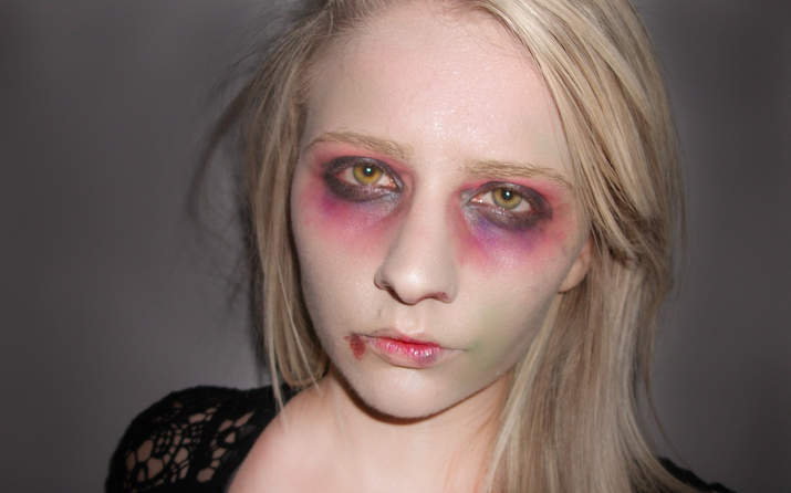 maquillage zombie rapide