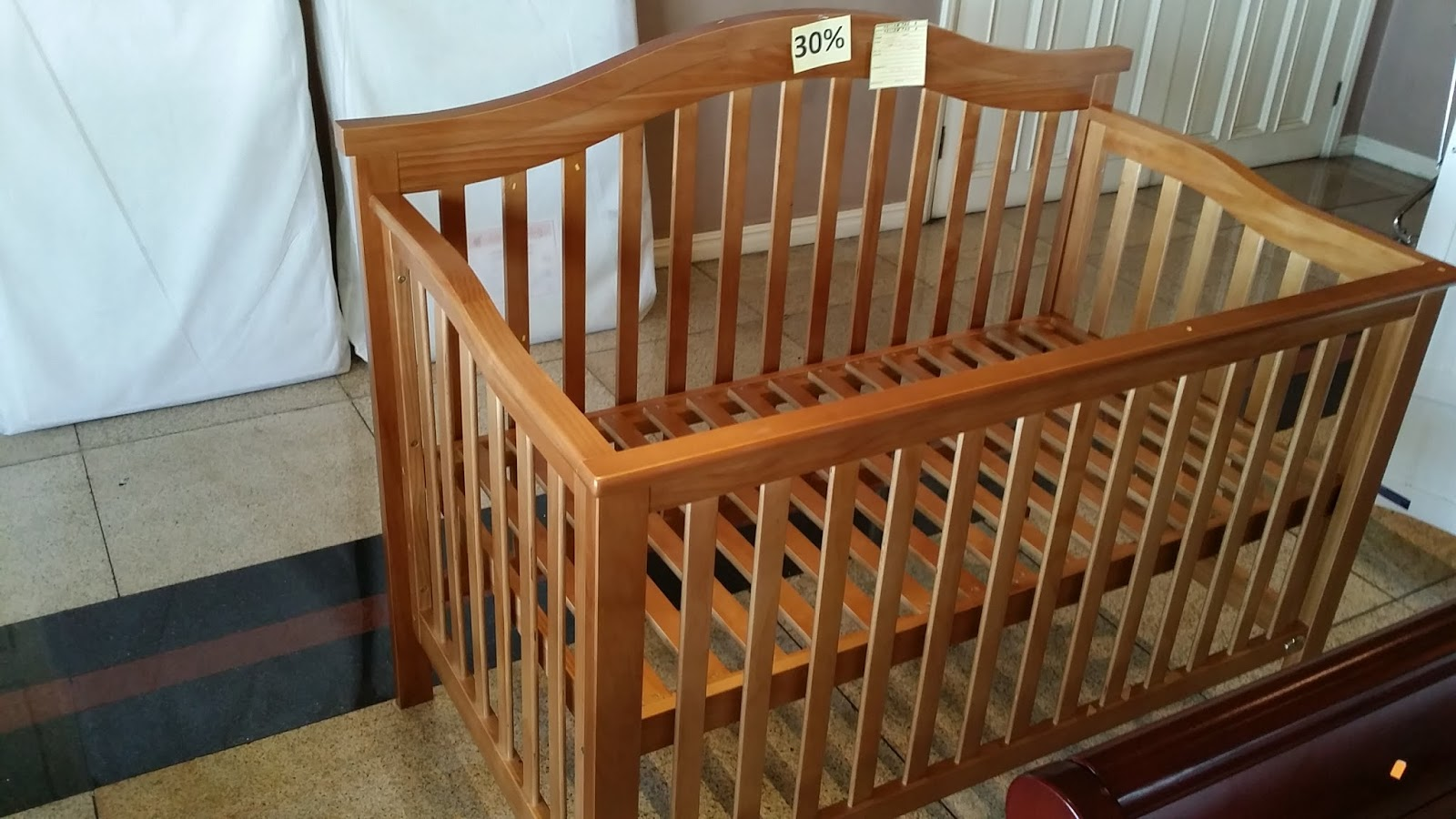 Wooden crib for sale makati - We Also Decided To Get The Mattress From Cuddlebug Even Though We Could Have Gotten A Much Cheaper Uratex Mattress Because What They Have Conforms To The