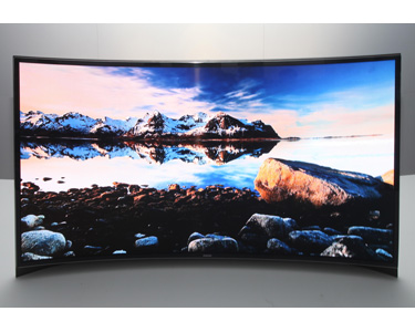 SAMSUNG Curved OLED TV | CES 2013 screenshot