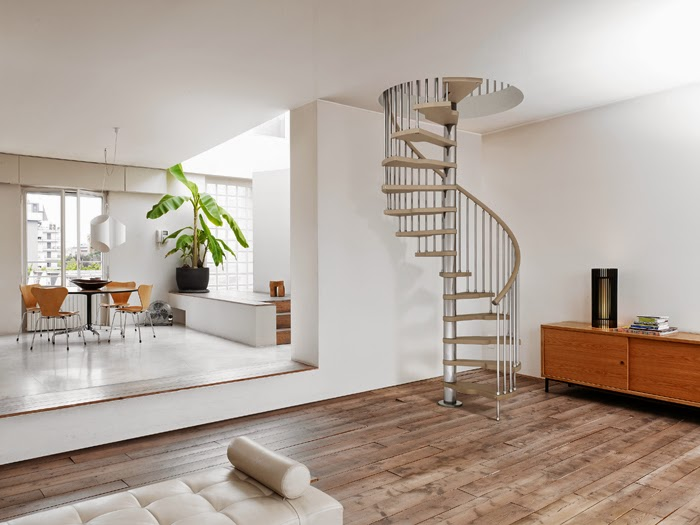 space saver stairs , spiral stairs