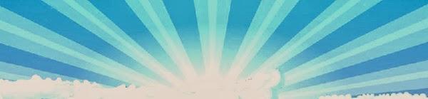 soare alb-albastru