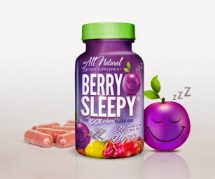 berry sleepy bottle and pills