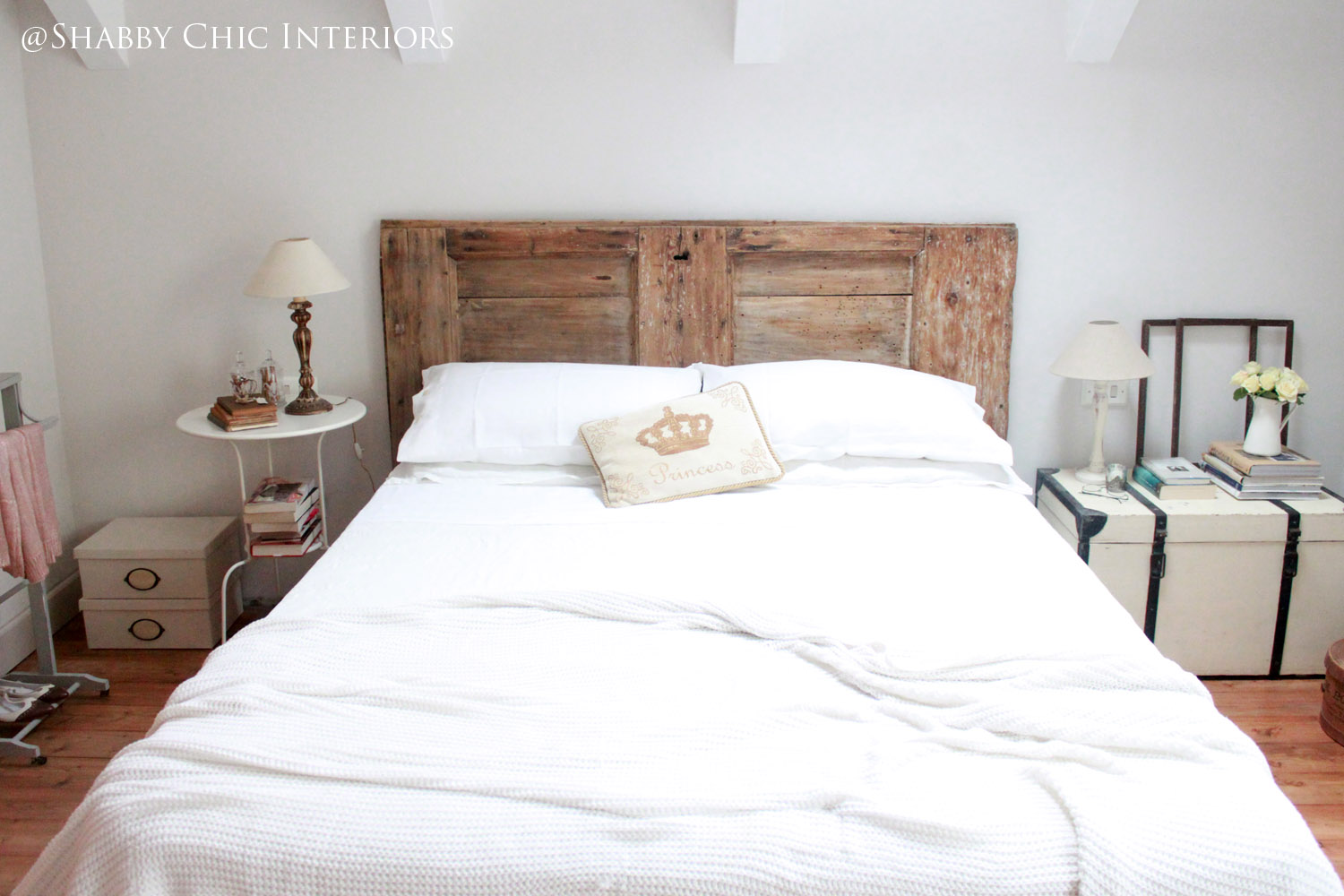 La mia camera da letto - Shabby Chic Interiors