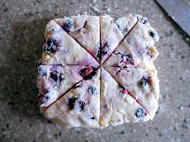 La Petite Brioche Blueberry Scones
