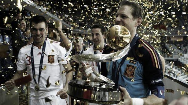selección española de fútbol sala jugadores campeones de Europa
