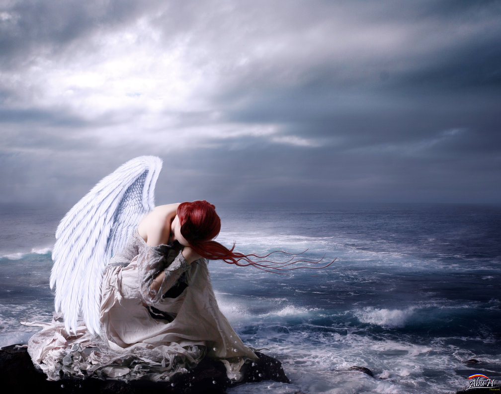 Avatar thiên thần buồn bã
