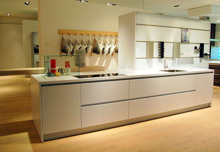 German handless kitchen ideas from kdcuk kitchen design ideas Handleless kitchen drawers design