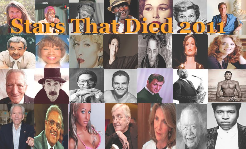 Stars that died in 2011