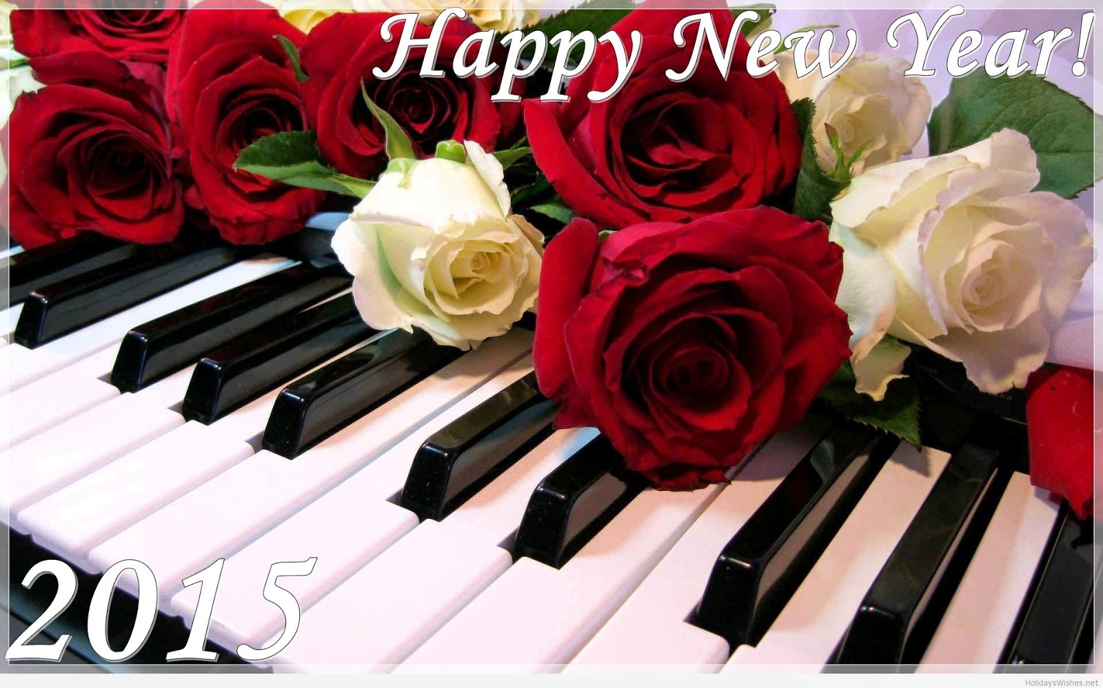 Happy New Year 2015 Roses Wallpaper - For Latest Free Download