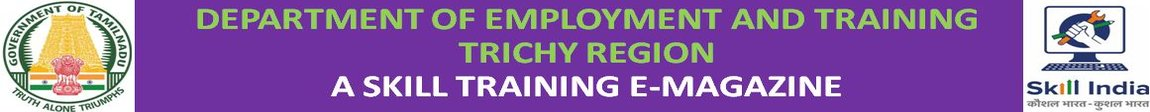 DEPARTMENT OF EMPLOYMENT AND TRAINING - TRICHY REGION