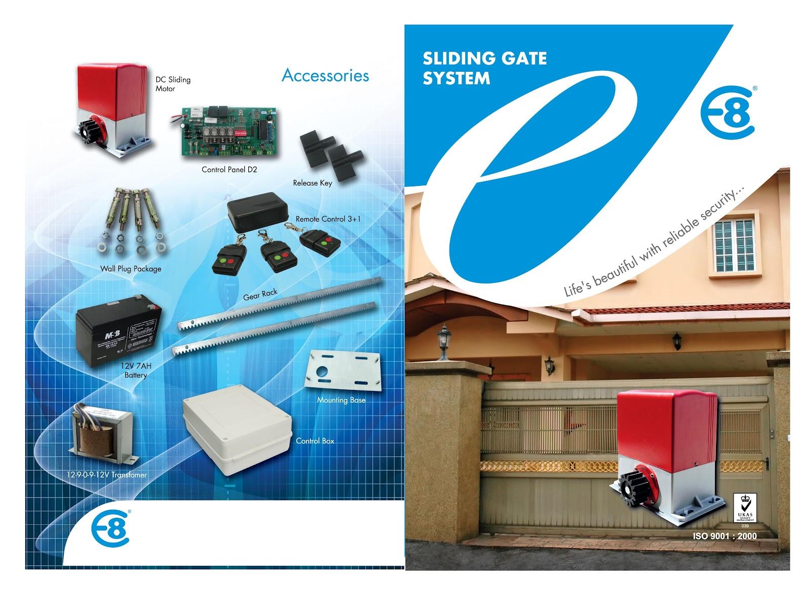 Autogate Amp Security Supply Dc Sliding Automatic Gate