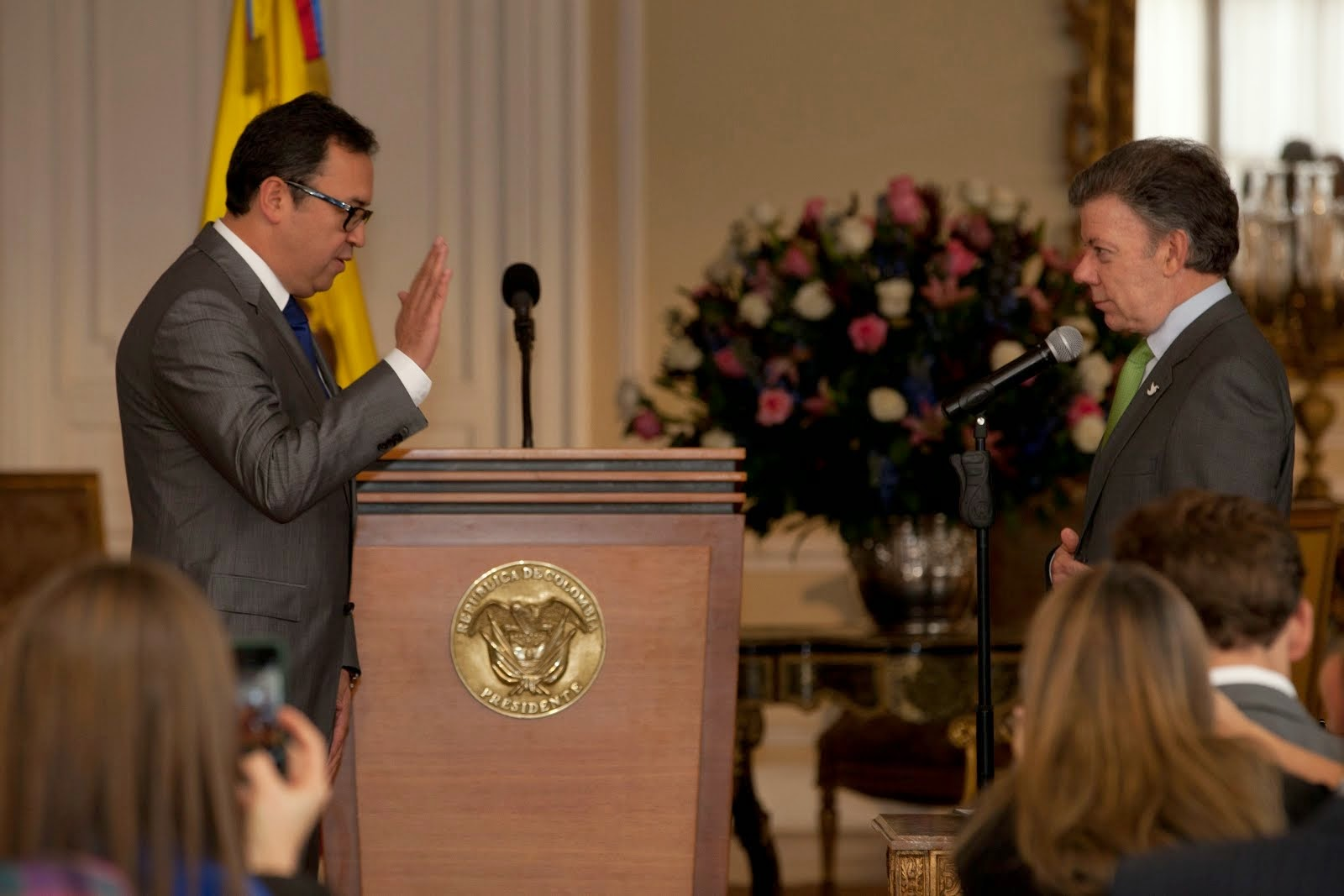 Alfonso Prada se posesionó como director general del SENA