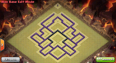 Base War Town Hall 8 Anti Air Troops