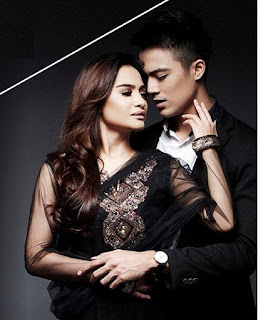 Aliff Aziz Feat Kilafairy Warna Cinta Gerua Malay Version