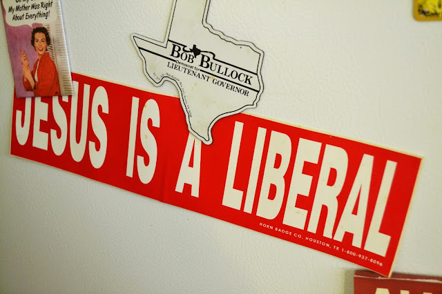 bumper sticker, catie beatty, liberal