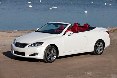 auto nouvelles le coup cabriolet toit rigide lexus is c 2012 n aura jamais t. Black Bedroom Furniture Sets. Home Design Ideas