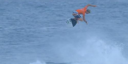 8 foot alley oop surf trick