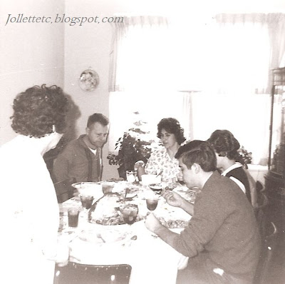 Dinner at Grandma Davis' 1964