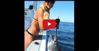 best bikini fishing girl