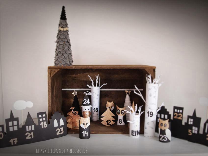 lilli und lotta adventskalender n 1. Black Bedroom Furniture Sets. Home Design Ideas