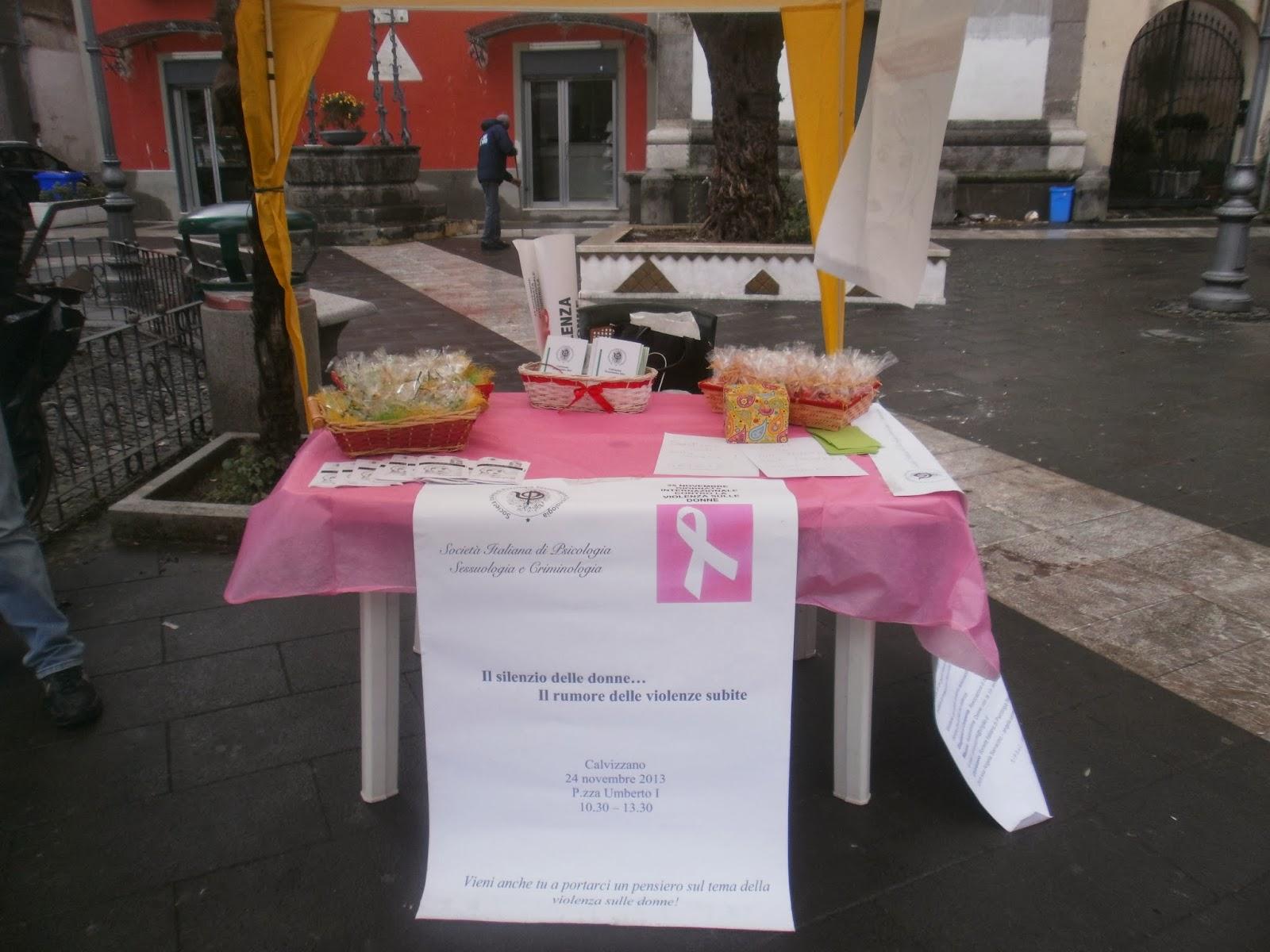 A calvizzano un punto di riferimento per tutte le donne for Societa italiana di criminologia