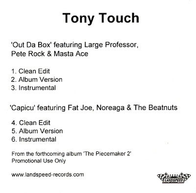 Tony Touch – Out Da Box / Capicu (Promo CDR) (2003) (320 kbps)