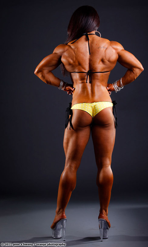 Carla Rossi Female Muscle Bodybuilding Blog FTVideo Ripped Physique
