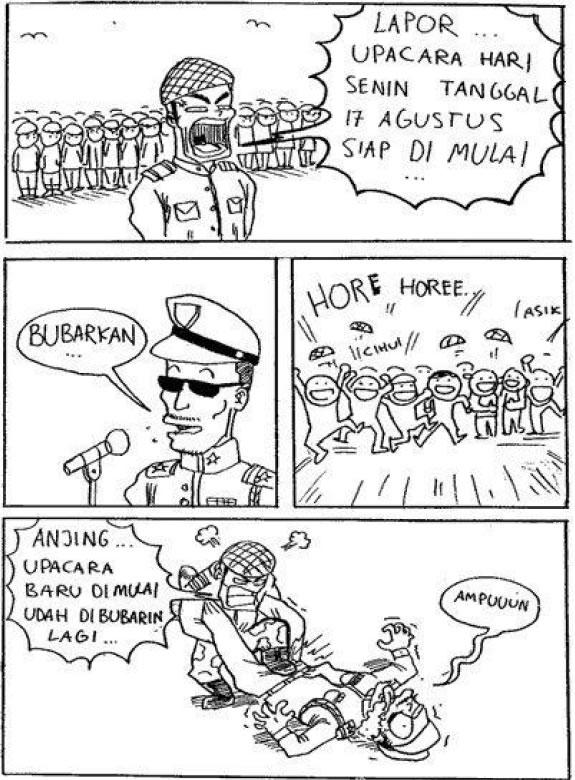Kumpulan Komik Pendek Kocak Bin Gokil