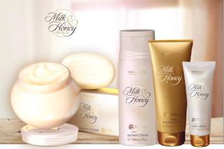 Mleko i miód cała seria kosmetyków