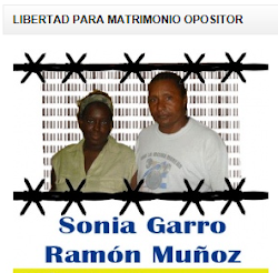 Firma por la Libertad de Sonia Garro Alfonso y su esposo Ramón Alejandro Muñoz González.