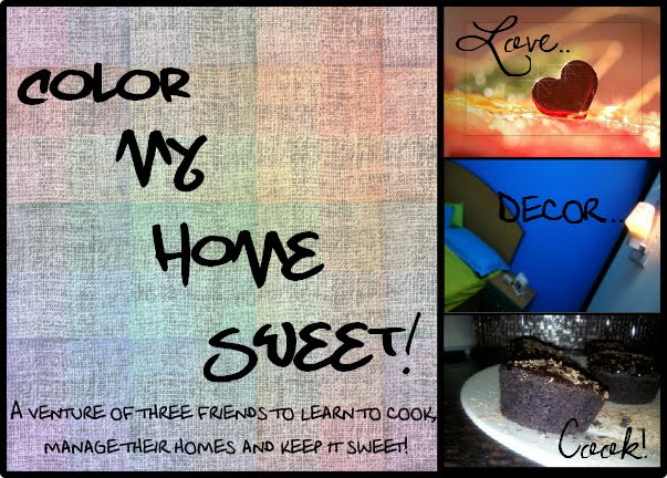 Color My Home Sweet!