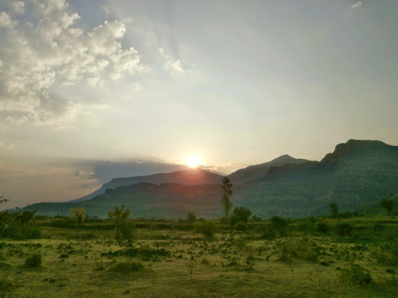 Golden Sunrise over Kalsubai