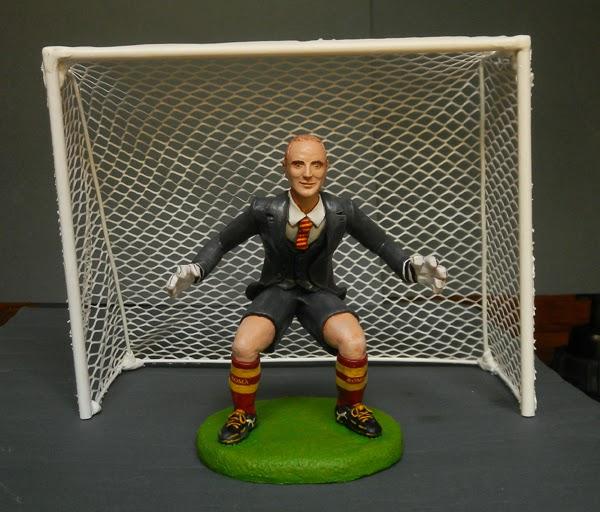 Matrimonio Tema Calcio : Orme magiche cake topper sposini a tema calcio