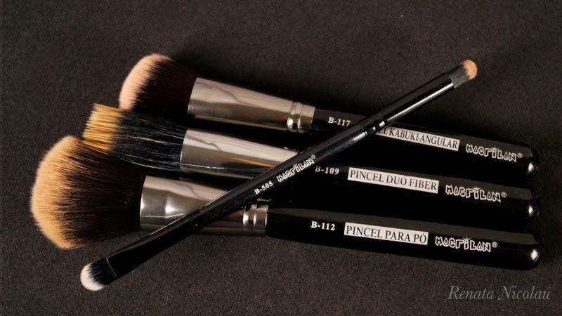Testei: Pincéis de maquiagem Macrilan