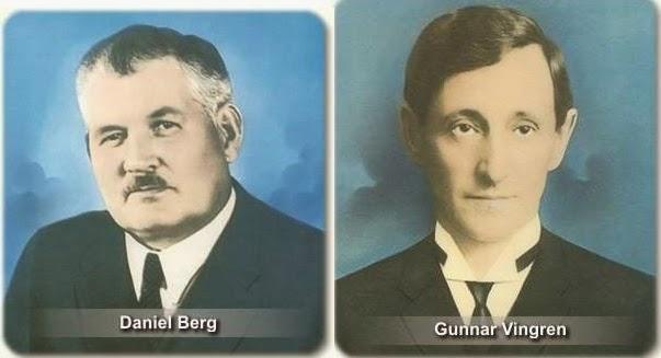 Gunnar Vingren e Daniel Berg