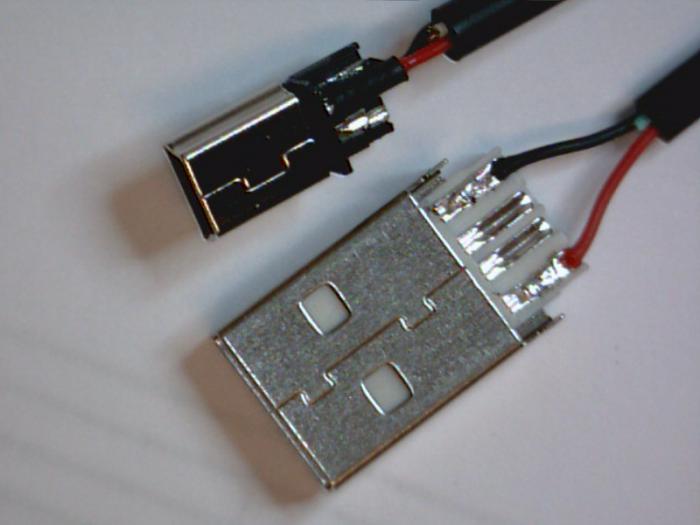 USB-разъема под зарядку?