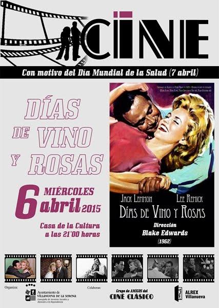 Cine Clásico: Días de Vino y Rosas