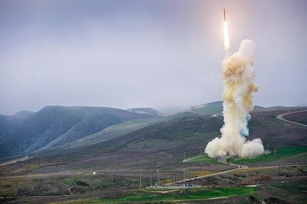Rudal dari sistem pertahanan GMD Amerika Serikat diuji tembak