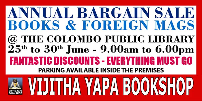 Annual Bargain Sale - Books and foreign Mags.