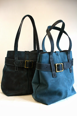 teal blue handmade leather handbag shoulderbag