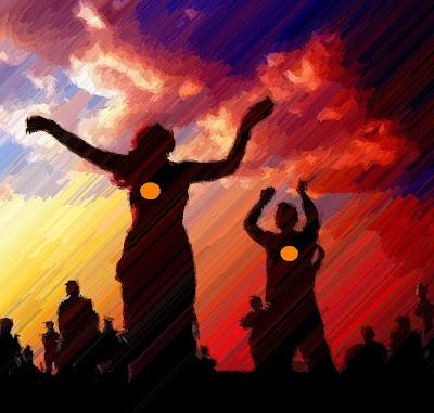 Music festival dancers image