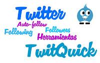 saber quién te sigue y quien no en twitter