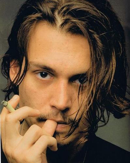 Johnny Depp Hairstyle 7