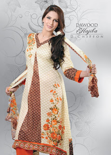 Pakistani Boutiques: Hajiba De Chiffon Lawn Collection 2012 by ...