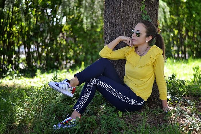 look con adidas superstar