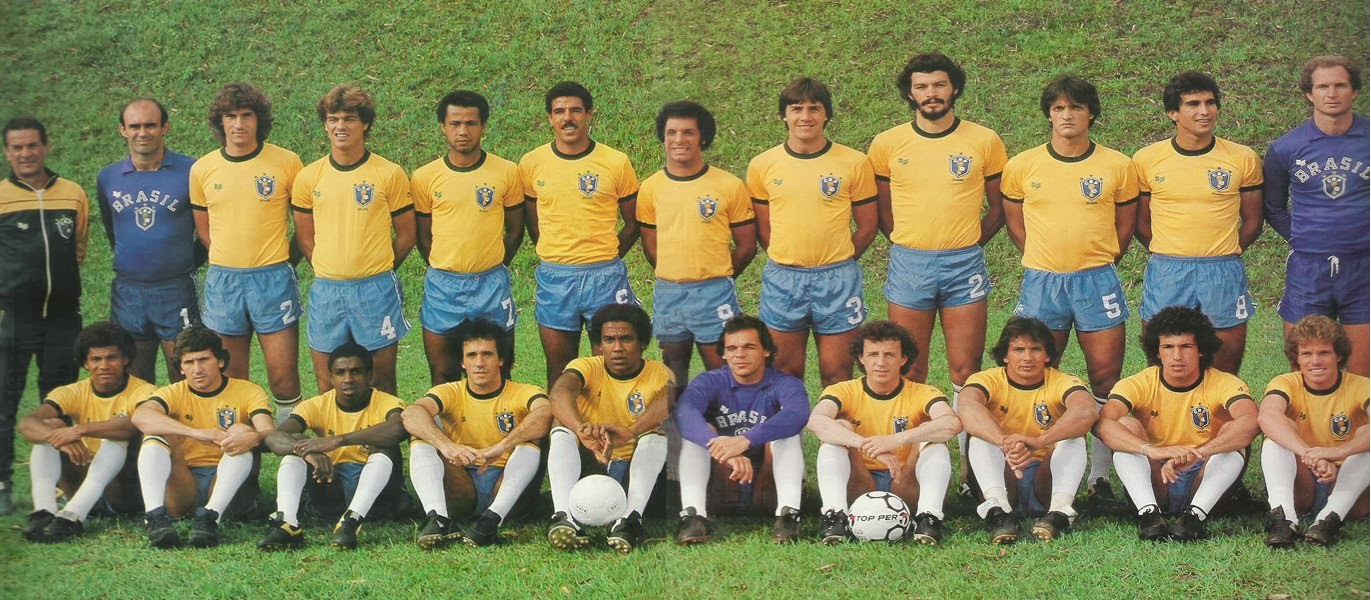 Soccer Football Or Whatever The Brazil 1982 With Careca