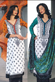 white salwar kameez deigns